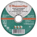 Круг отрезной HAMMER 232-004 по металлу A 36 S BF / 180 x 2.0 x 22,23