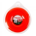 Леска триммерная HAMMER 216-117 TL ROUND 4.0мм*32м  круглая, цвет - красный, + нож (10)