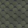 Мягчер. Шинглас Финская Соната (черепица) Зеленая (3 м2 уп)  (36)