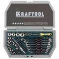 Набор  автомобильного инструмента KRAFTOOL Cr-V сталь 38 предметов