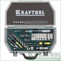 Набор  автомобильного инструмента KRAFTOOL Cr-V сталь 49 предметов