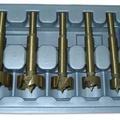 Набор фрез 15-35мм Форстнера, покрытие нитрид титана (5шт.)