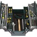 Набор слесарно-монтажного инструмента KRAFTOOL Cr-V сталь 59 предметов