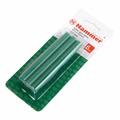 Набор стержней для клей-пистолета HAMMER 211-002  11.2мм, 100мм, 6шт., зеленый металлик