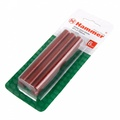 Набор стержней для клей-пистолета HAMMER 211-003  11.2мм, 100мм, 6шт., красный металлик