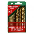 Набор сверел HAMMER 202-903 DR set No3 (13pcs) 1,5-6,5mm  металл, 13шт.