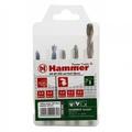 Набор сверел HAMMER 202-905 DR set No5 (5pcs) 5-8mm  металлдерево, 5шт.