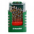 Набор сверел HAMMER 202-908 DR set No8 (29pcs) 1,0-13mm  металл, 25шт.