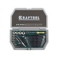 Набор торцевых головок 1/2 KRAFTOOL Cr-V сталь 38 предметов
