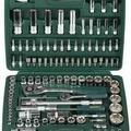 Набор торцевых головок универсальный KRAFTOOL Cr-V сталь 108 предметов