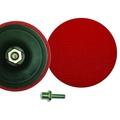 Насадка пласт.для шлифмашины 125мм/М14х2 с липучкой,с переходником 888