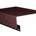 Приоконная планка 3,10 GL  коричневая (12шт)