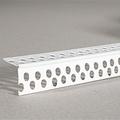Уголок пластиковый перфорированный  ПВХ защитный (3м/25*25)(200шт)