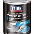 Tytan Professional Герметик для кровли WATER STOP Черный 1кг