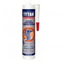 Tytan Professional Герметик Силиконовый Высокотемпературный красный 310мл(12)