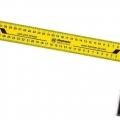 Угольник столярный Hammer Flex 601-029 350мм, алюминий