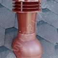Вент. выход К-21-6 черный  неизол D110 Н495мм  для мягкой кровли (при монтаже)