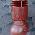 Вент. выход К-22-2 корич изол. D110 Н495мм для мягкой кровли (при монтаже)