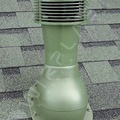 Вент. выход К-43-2 корич неизол D110 Н495мм для мягкой кровли с электро. вентилятором
