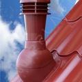 Вент. выход К-48-4 крас неизол D110 Н495мм  для метала (при монтаже)