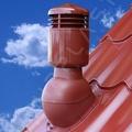 Вент. выход К-49-2 корич изол D110 Н495мм для металла