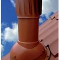 Вент. выход TP53-4 крас неизол роторный D150 Н520мм для металлочерепицы